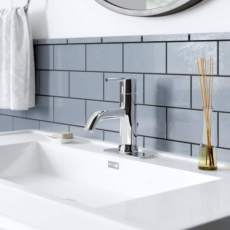 The Trinsic Single-Hole Bathroom Faucet from Wayfair.