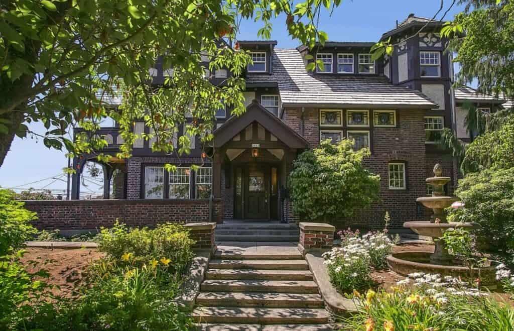 Sprawling Seattle Landmark Tudor Mansion (Renovated)