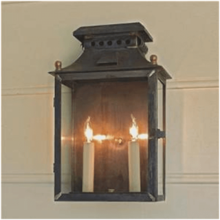 Lantern-Style Sconces