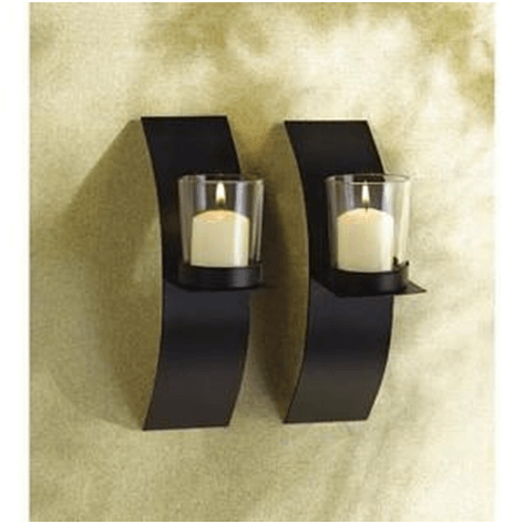 Wall Sconces as Candle Holders