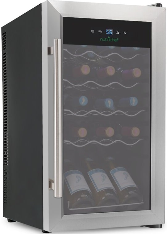The NutriChef 15 Bottle Wine Cabinet from Wayfair.