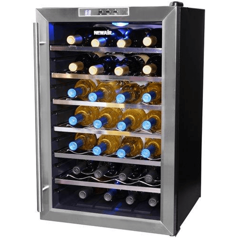 Nice looking small wine bottle refrigerator