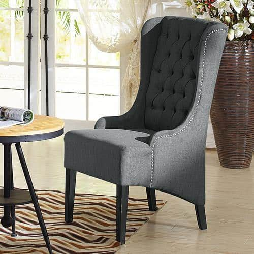baxton studio vincent wingback chair