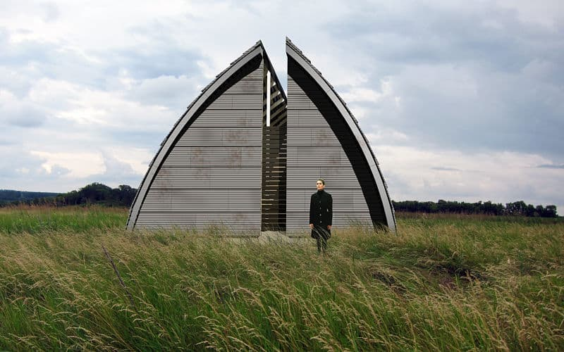 award winning prairie chapel in Dennison, Minnesota