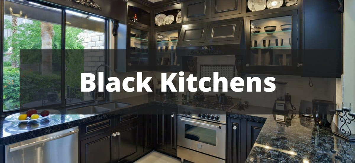 33 Sleek Black Kitchen Ideas for 2018