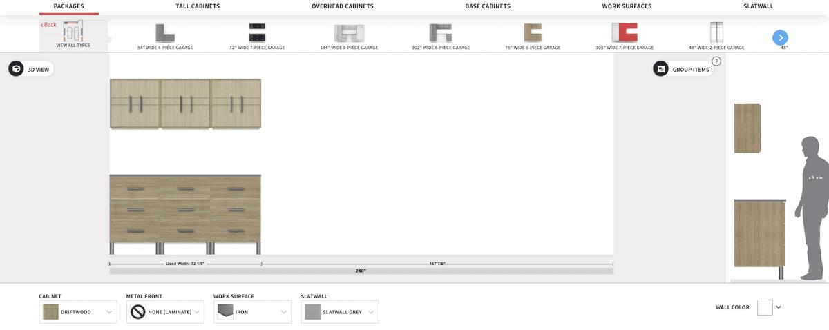 Easy Garage Design Software Example