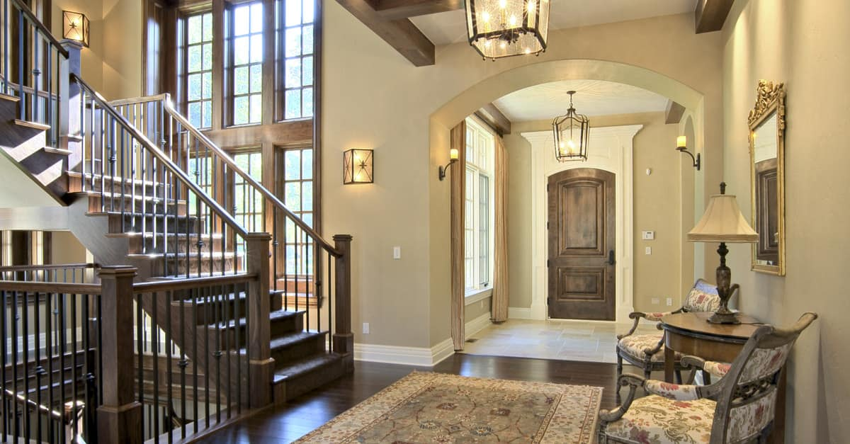 Foyer Colors Uk : Useful home entry hall design statistics