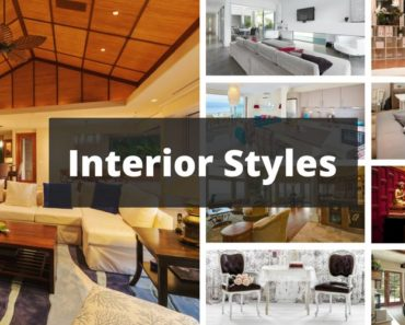 Interior design styles
