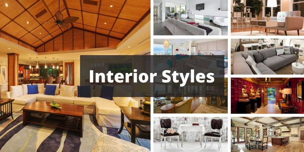 101 interior design ideas for 25 types of rooms in a house - Different types of interior design styles ...