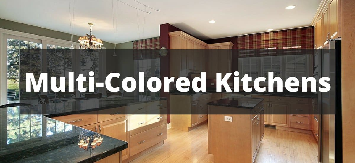 150 Multi Colored Kitchen Ideas For 2019 - Colored-kitchens