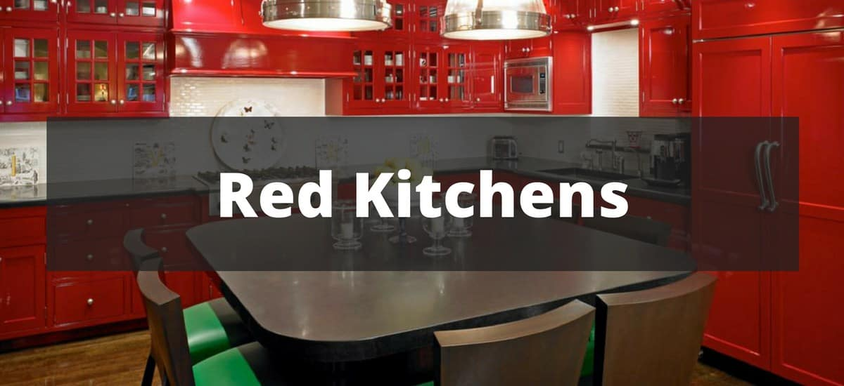 48 Red Kitchen Ideas For 48 Delectable Red Kitchen Ideas