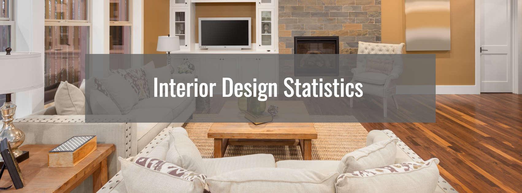 Interior design statistics