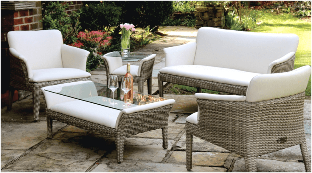 Furnishing A Small Garden Is All About Scale. You Do Not Want Any Bulky  Furnishings Made Of Teak, It Is A Much Better Option To Think Of Sleeker  Bistro ...