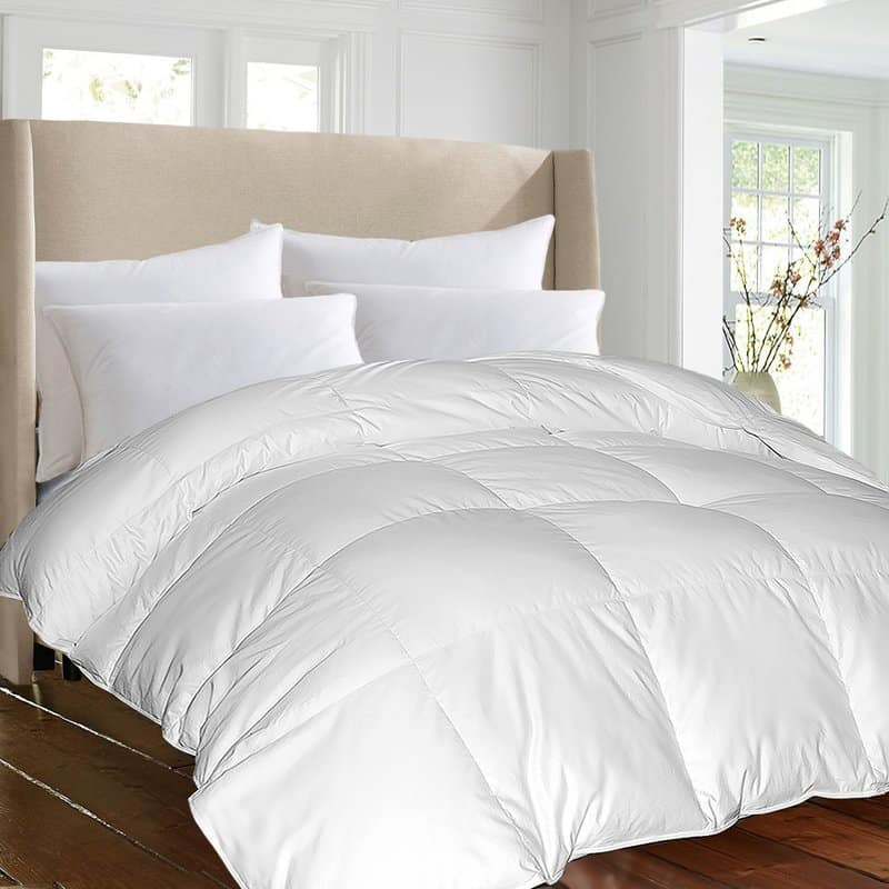 1000 thread count all season down alternative comforter