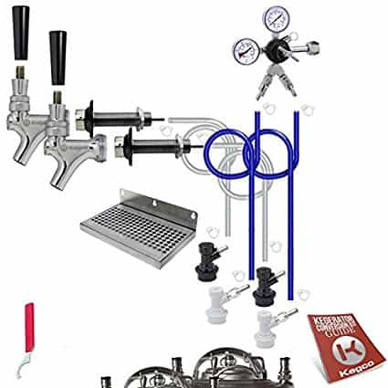 Dual Tap Kegerator Conversion Kit
