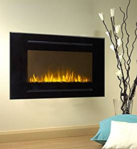 Forte Wall Mount Electric Fireplace