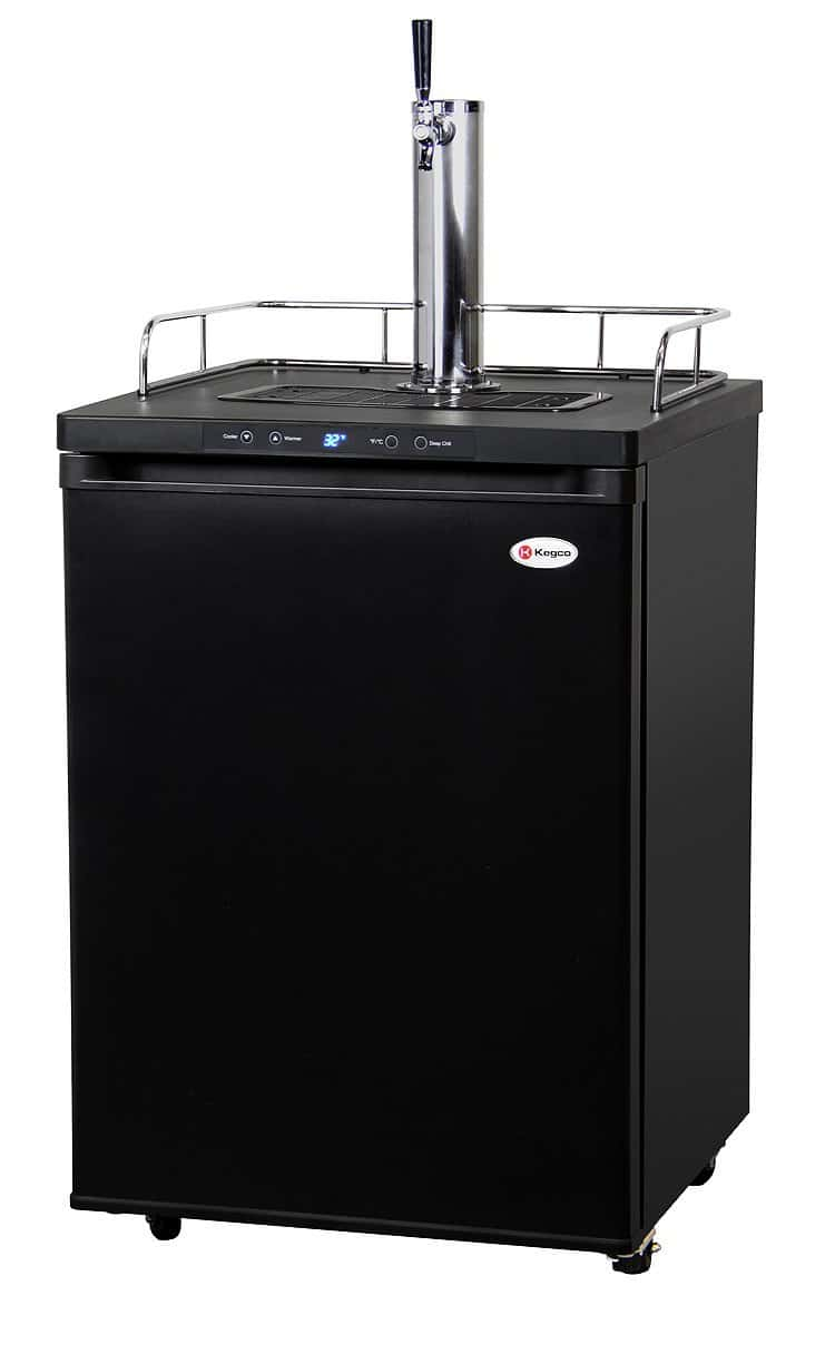 Kegco Digital Single Tap Freestanding Kegerator