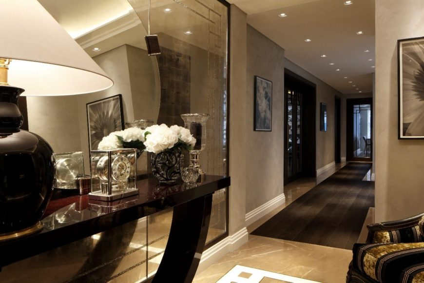 modern style interior