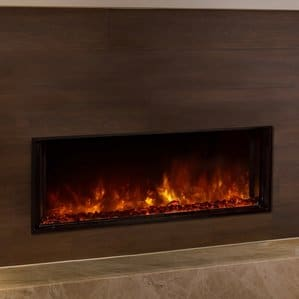 Landscape Full View Series Wall Mount Electric Fireplace