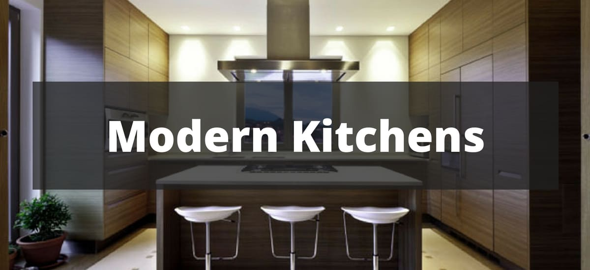 50 Modern Kitchen Design Ideas (2018)