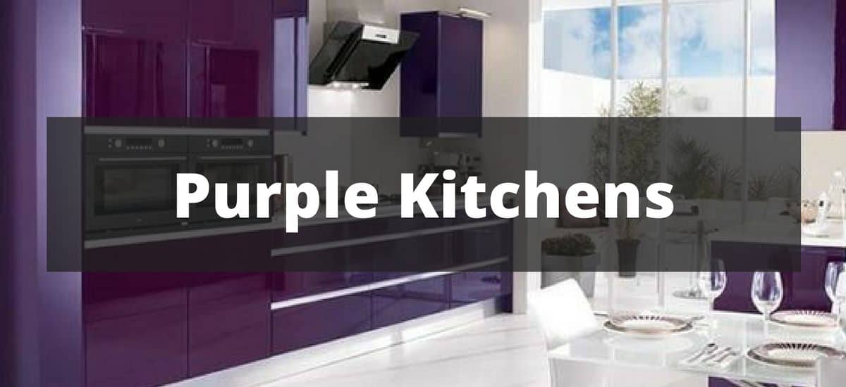 20 Purple Kitchen Ideas for 2018