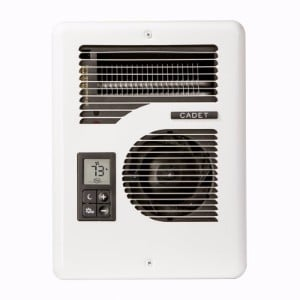 Wayfair Cadet Com Pak Series Energy Plus MultiWatt 120 240 Volt Electric Fan Wall Heater