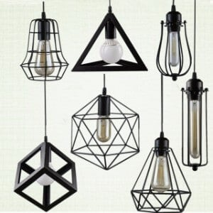 Metal Ceiling Lights
