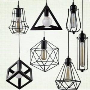 Metal Ceiling Lights