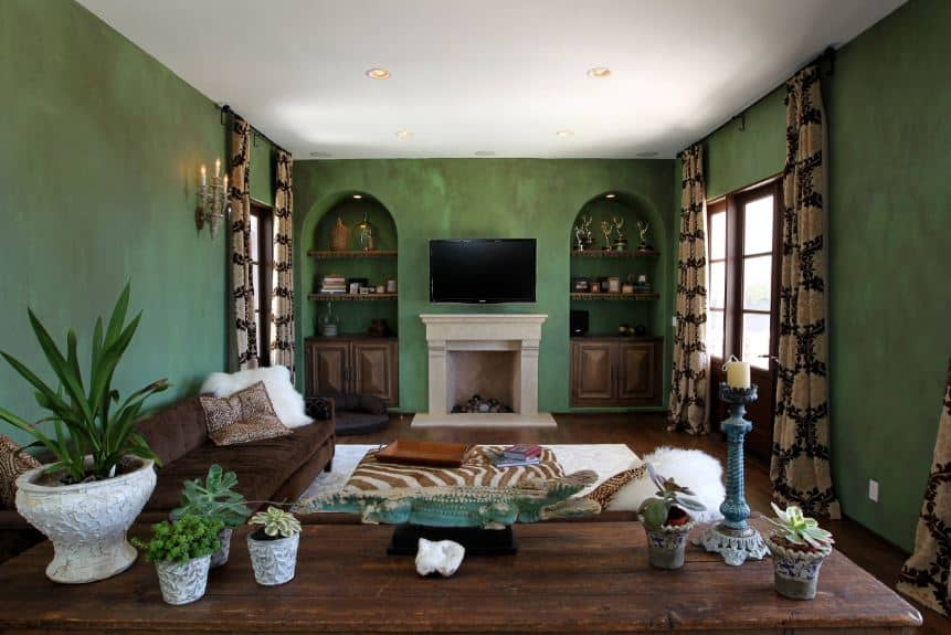 40 green living room ideas photos - Green living room ideas decorating ...