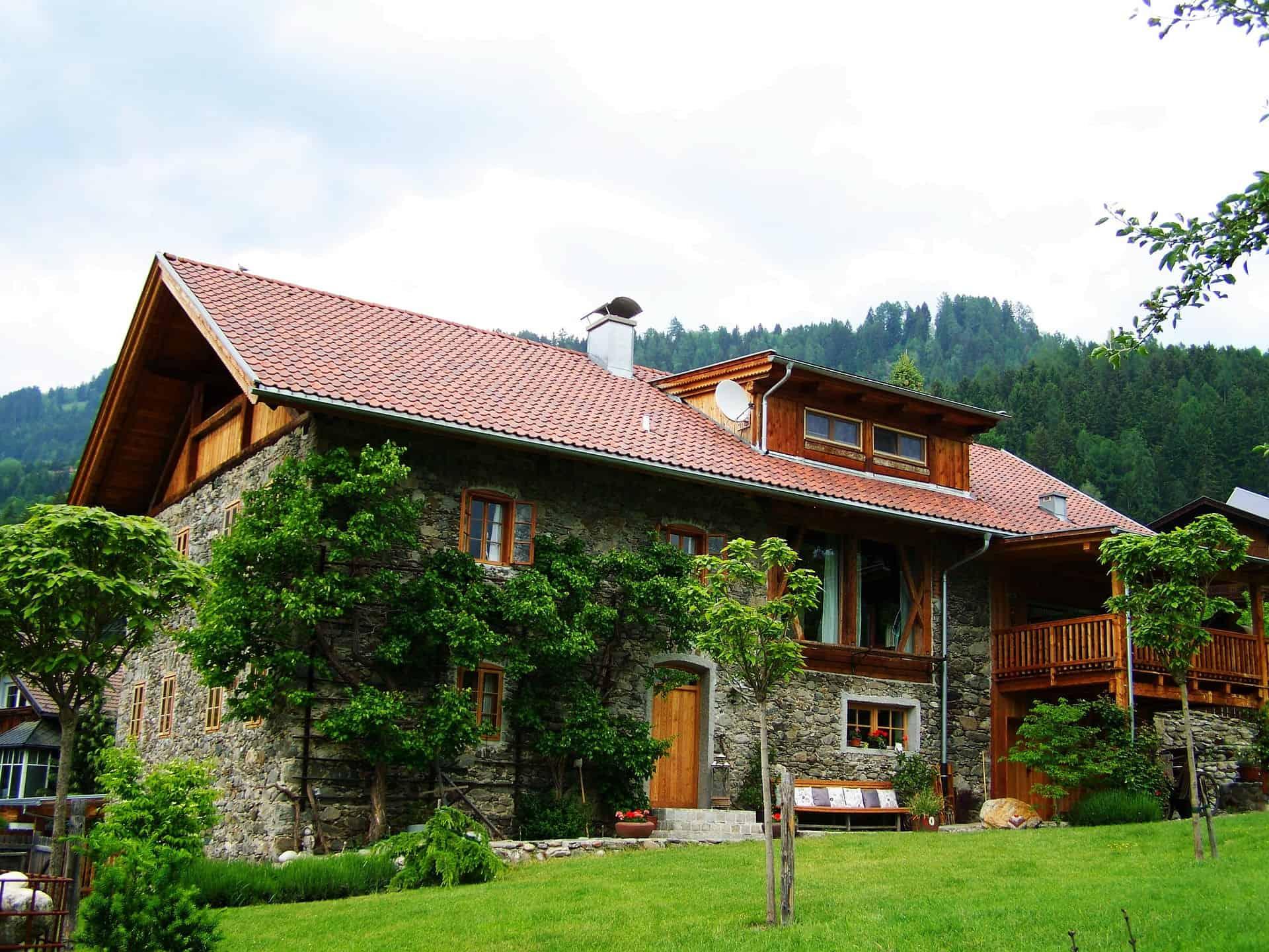 huge home