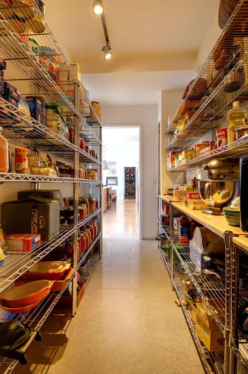 100 gorgeous walk in kitchen pantries for 2018 for Pictures of walk in pantries