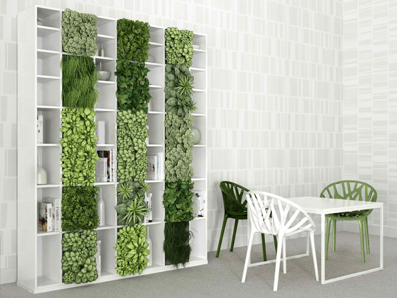 indoor vertical gardening
