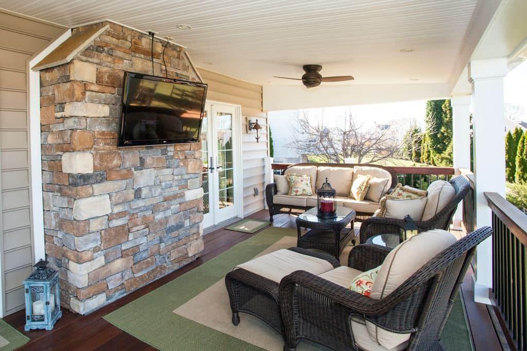 101 front porch ideas for 2018 pictures - Muebles para porche ...