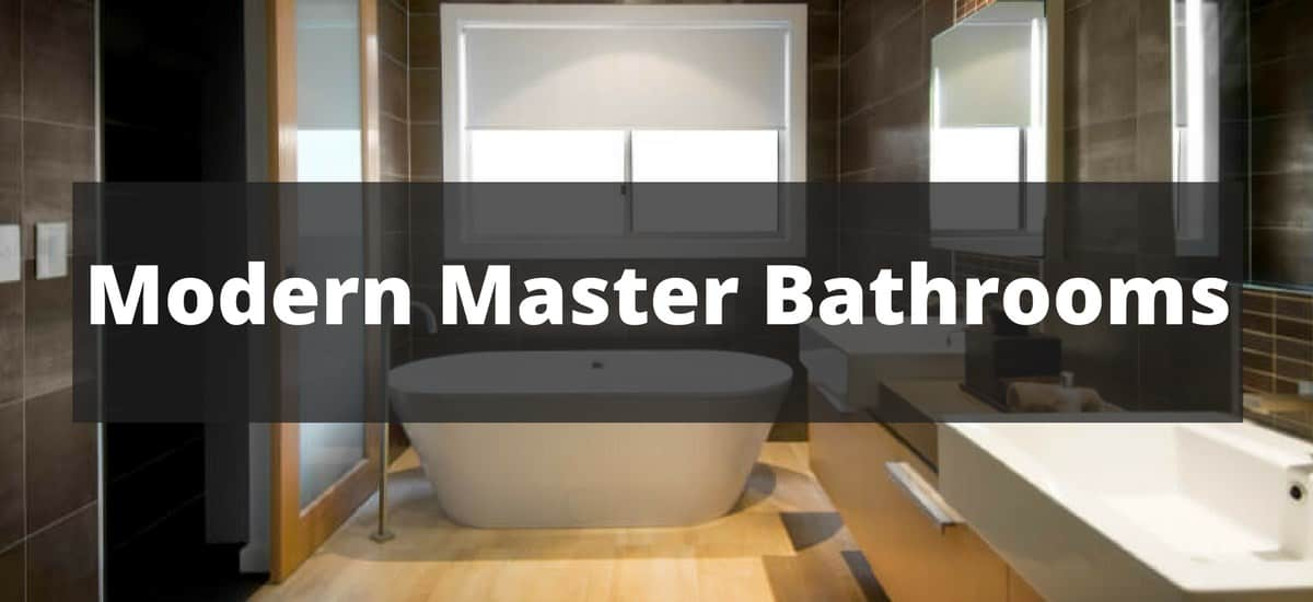 120 Sleek Modern Master Bathroom Ideas for 2018