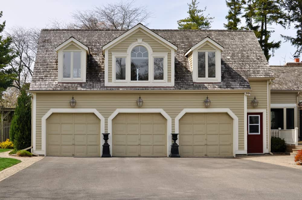 Example of garage designed with software.