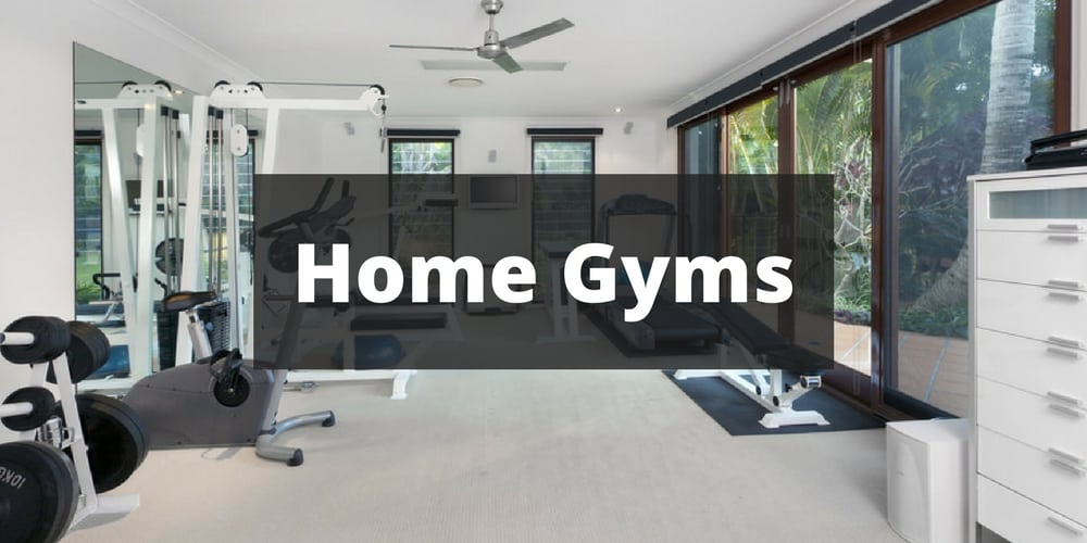 Home Fitness Room Decorating Ideas
