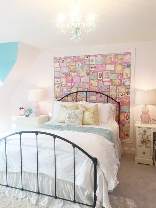 A Small Simple Young Girlsu0027 Bedroom.Photo By ADF Interiors   Browse Bedroom  Photos
