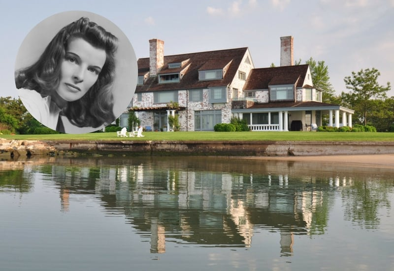 Katharine Hepburn's Long Island House ($14.8 Million)