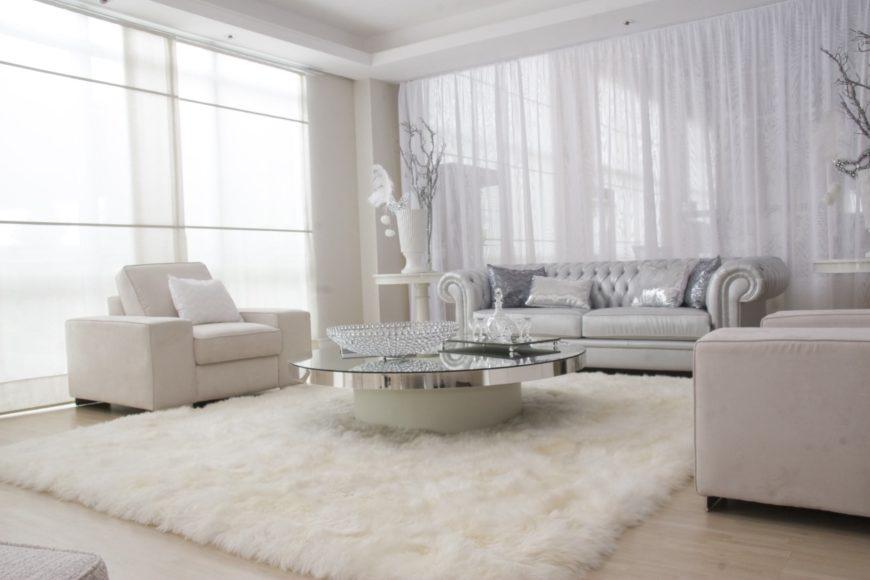 69 White Modern Formal Living Room Ideas (Photos)
