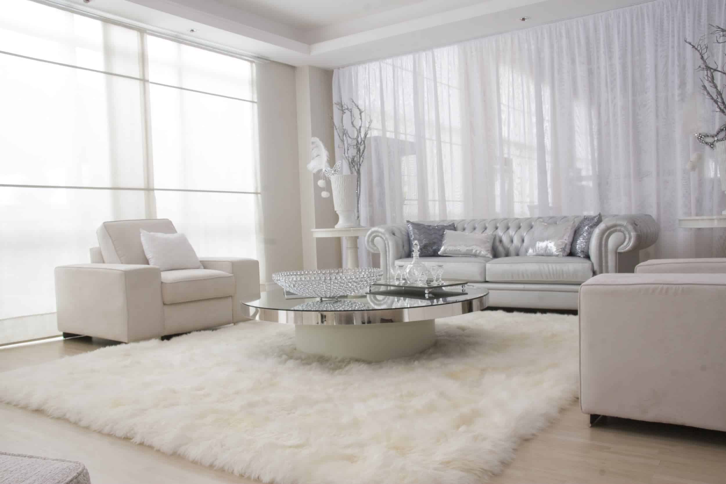 80 White Modern Formal Living Room Ideas for 2018