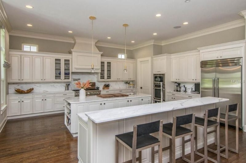 dazzling kitchen ambient lighting. a kitchen with gray walls and breakfast bar dazzling ambient lighting l