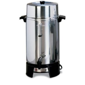 100 cup coffee maker by West Bend