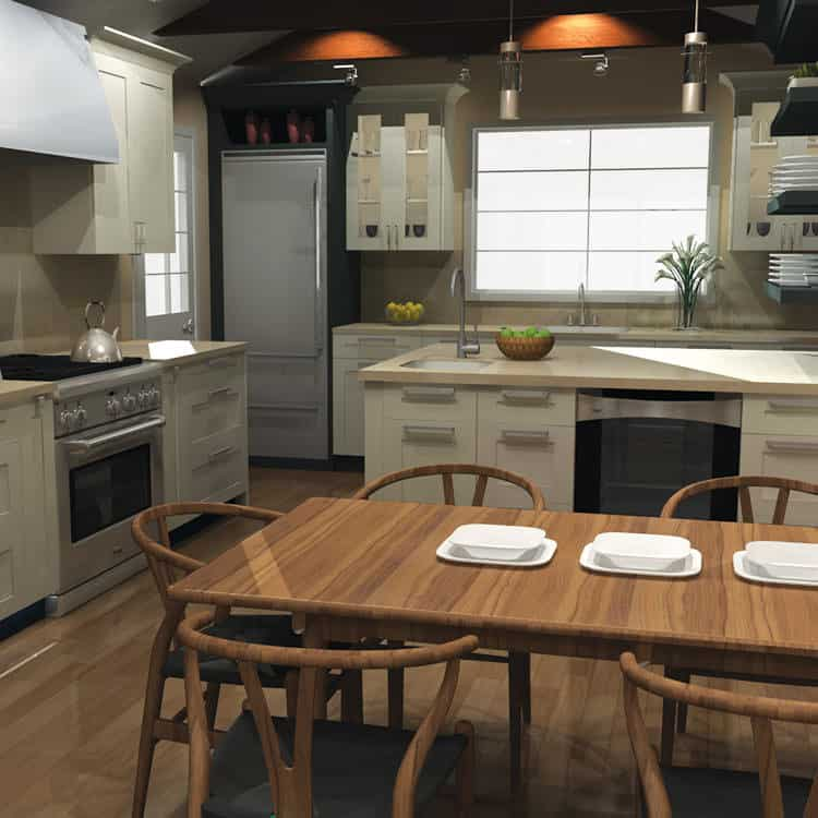 Delicieux Incredible Example Of A Virtual Kitchen Design Using2020 Design Software.