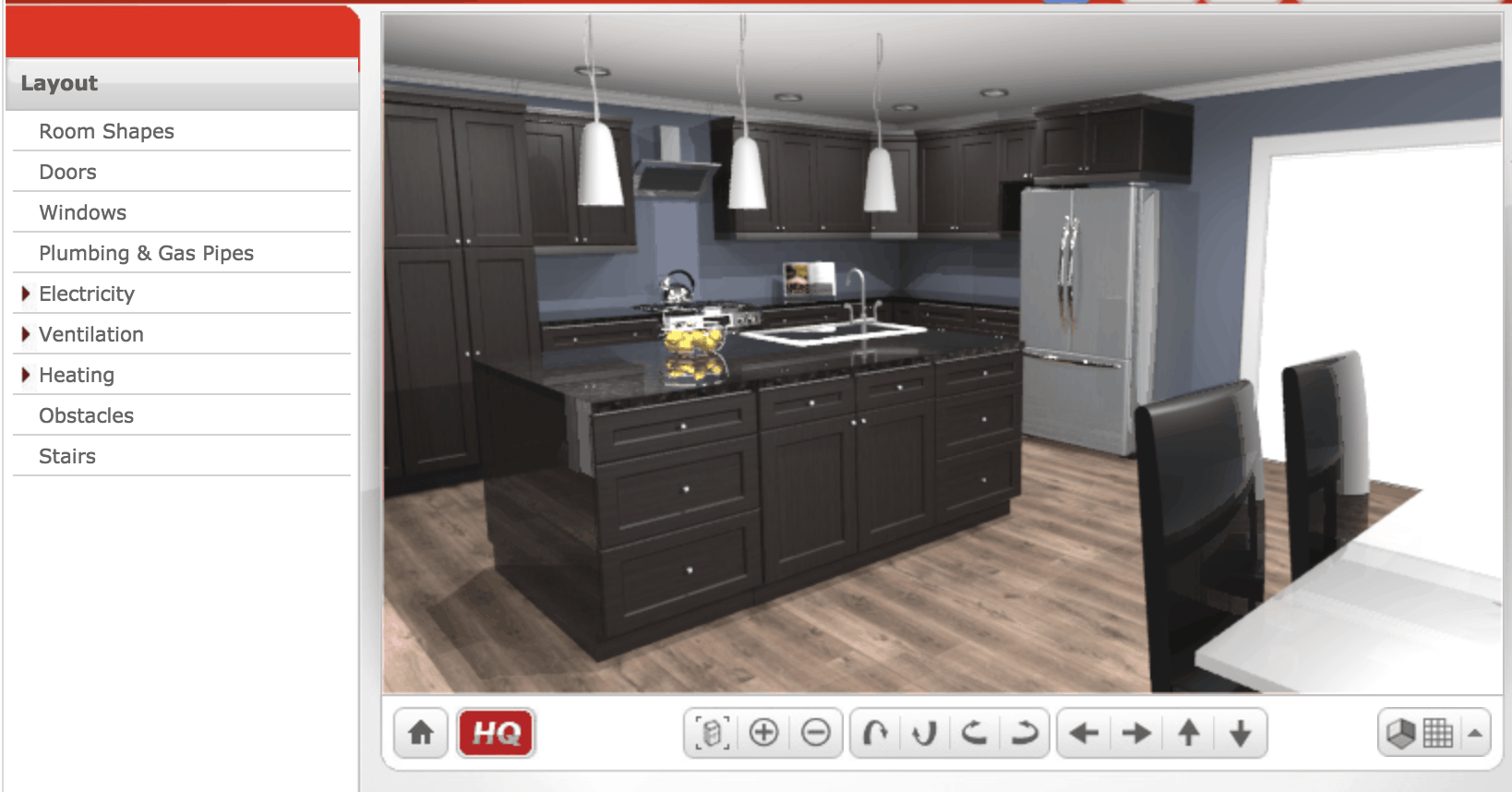 Kitchen Design Free - 3d House Drawing •