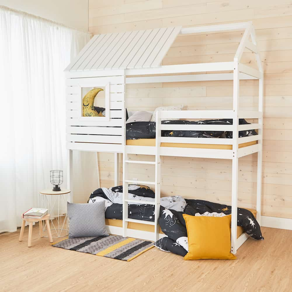 Small house bunk bed - twin size by cocovillage