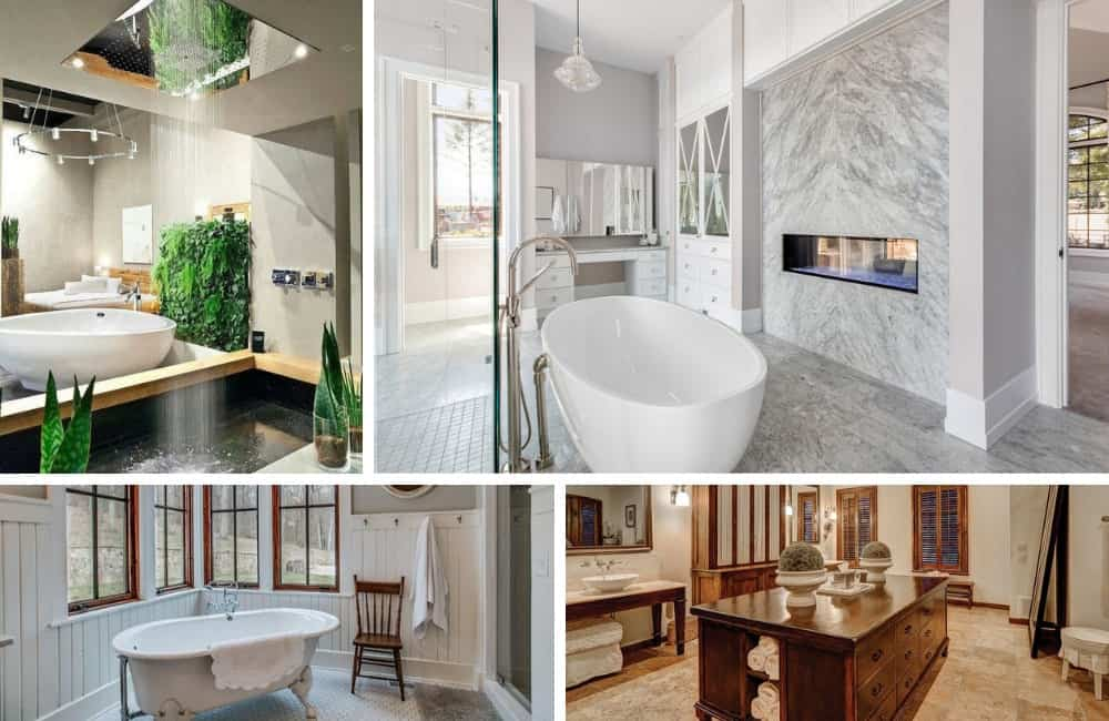 18 Different Types of Bathroom Styles