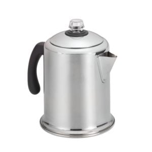 8-cup camping percolator coffee maker