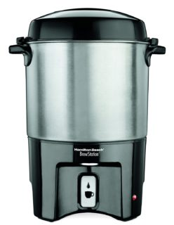 Large 40 cup coffee maker by Hamilton Beach