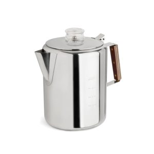 Large stove-top percolator
