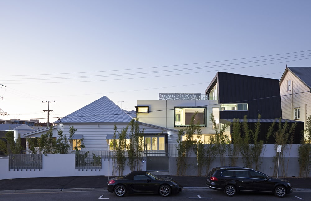 Base Architecture Adds Ultra Modern Addition to 19th Century Heritage Cottage